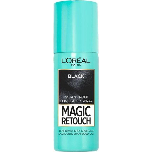 LOREAL PARIS - INSTANT ROOT CONCLEALER SPRAY - MAGIC TOUCH - BLACK - 75 ML