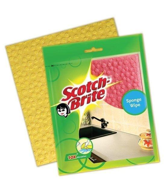 SCOTCH BRITE - SPONGE WIPE - 5 PIECES