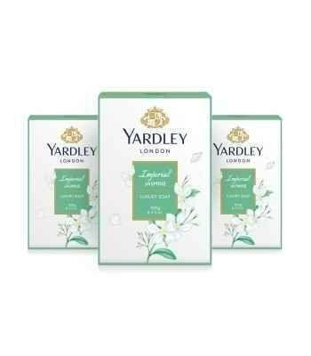 YARDLEY LONDON -  IMPERIAL JASMINE LUXURY SOAP -300 Gms - Pack of 3