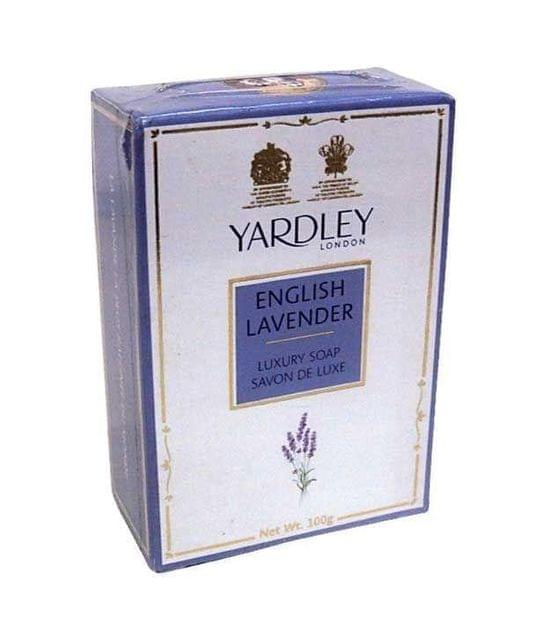 YARDLEY LONDON - ENGLISH LAVENDER LUXURY SOAP  - 400 Gms - Pack of 4