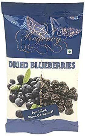 REGENCY DRIED BLUEBERRIES - 75 Gms