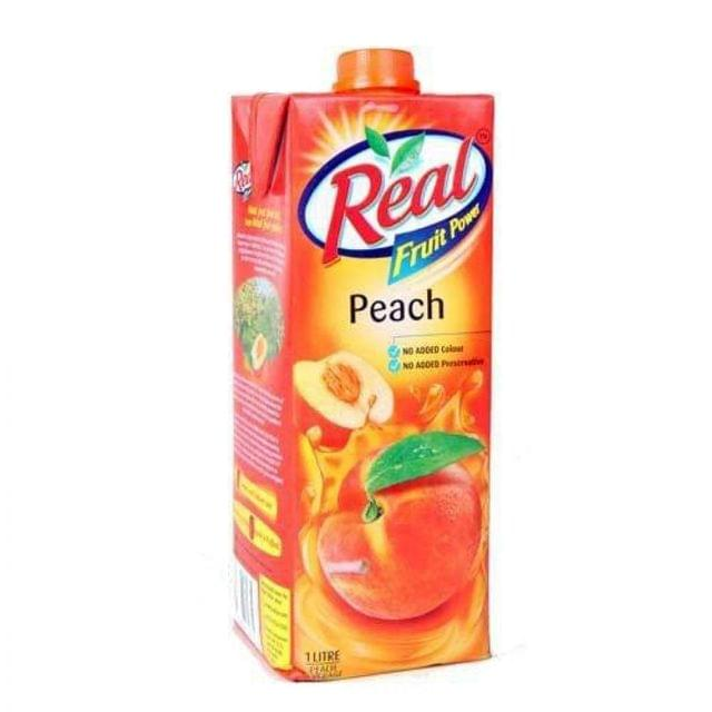 REAL - PEACH - 1 Litre