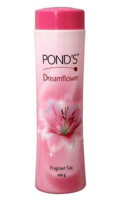 PONDS  - DREAM FLOWER TALCUM POWDER - PINK LILY