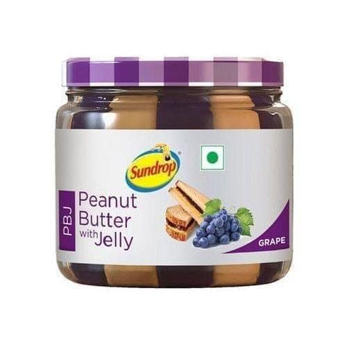 SUNDROP PEANUT BUTTER WITH JELLY - 340 Gms