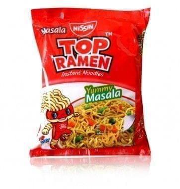 TOP RAMEN - MASALA NOODLES - 140 Gms