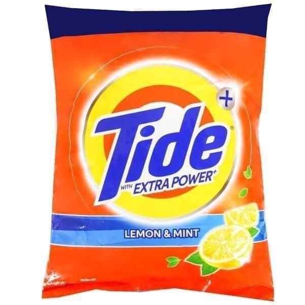TIDE - DETERGENT POWDER - LEMON & MINT - 1KG