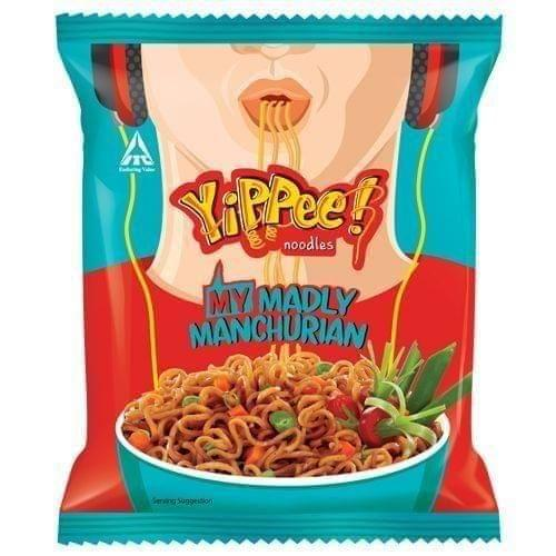 SUNFEAST YIPPEE - MADLY MANCHURIAN MASALA NOODLES - 60 Gms