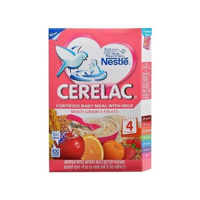 NESTLE CERELAC - MULTIGRAIN & FRUITS - 300 Gms