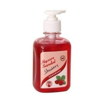 MYSORE SANDAL - STRAWBERRY HAND WASH - 250 ml