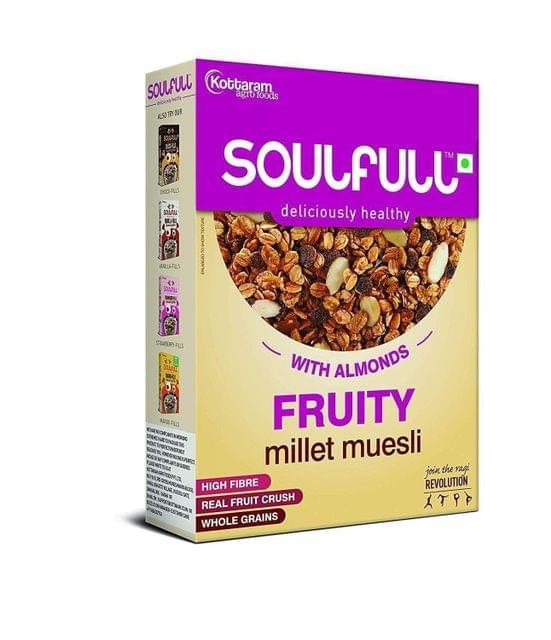 SOULFULL - FRUITY & NUT MILLET MUESLI