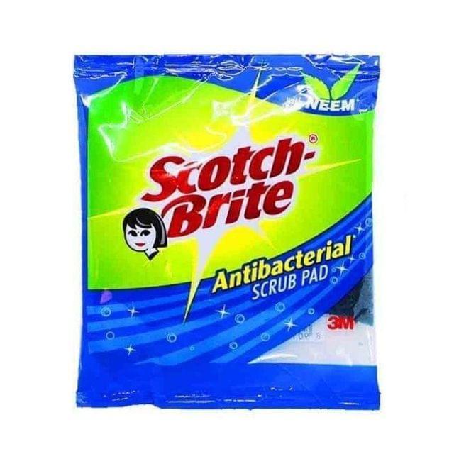 SCOTCH BRITE - ANTI-BACTERIAL SCRUB - 1 PIECE
