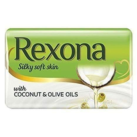 REXONA - COCONUT & OLIVE OIL BATHING BAR - 150 Gms