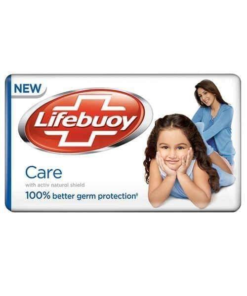 LIFEBUOY - CARE WITH ACTIVE NATURAL SHIELD BATHING BAR - 125 Gms