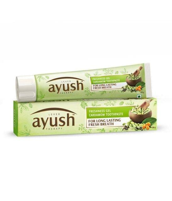 LEVER AYUSH - CARDAMOM TOOTH PASTE - 150 Gms
