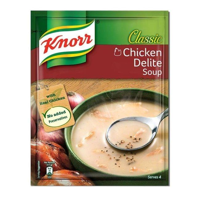 KNORR - CHICKEN DELITE SOUP -  44 Gms
