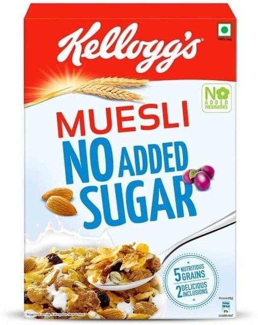 KELLOGG'S - MUESLI NO ADDED SUGAR - 500 Gms