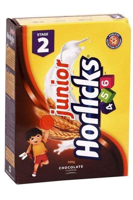 JUNIOR HORLICKS - CHOCOLATE - 500 Gms CARTON