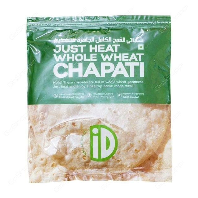 ID JUST HEAT WHOLE WHEAT CHAPATI - 390 Gms
