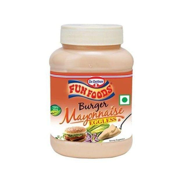 DR.OETKER FUNFOODS - BURGER MAYONNAISE - 275 Gms