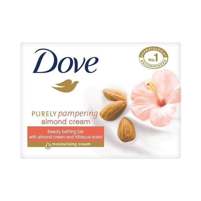DOVE - ALMOND CREAM SOAP BAR - 75 Gms