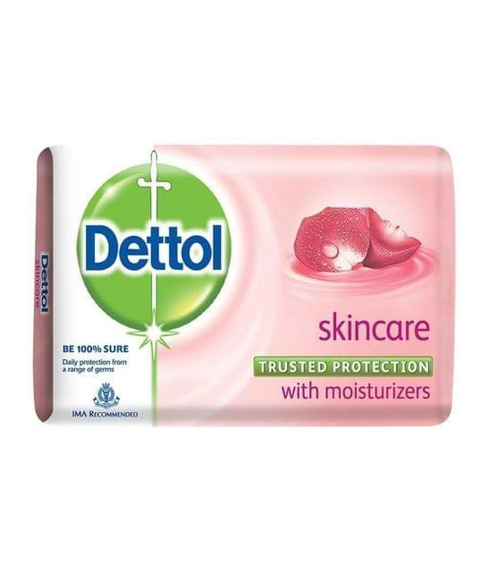 DETTOL - SKIN CARE SOAP BAR - 125 Gms