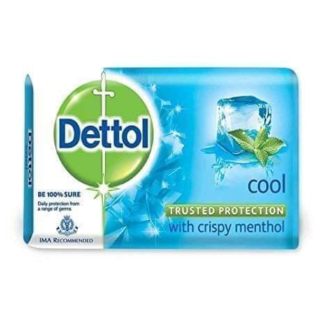 DETTOL - COOL SOAP BAR  WITH CRISPY MENTHOLS - 125 Gms