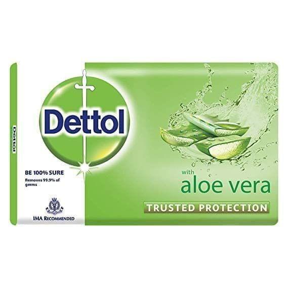 DETTOL - ALOE VERA SOAP BAR - 100 Gms