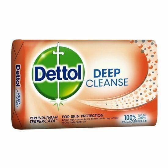 DETTOL - DEEP CLEANSE SOAP BAR - 75 Gms