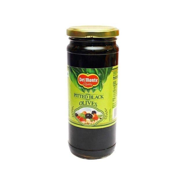 DEL MONTE - PITTED BLACK OLIVES