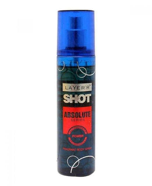 LAYER SHOT - ABSOLUTE POWER FRAGRANT BODY SPRAY - 135 ml