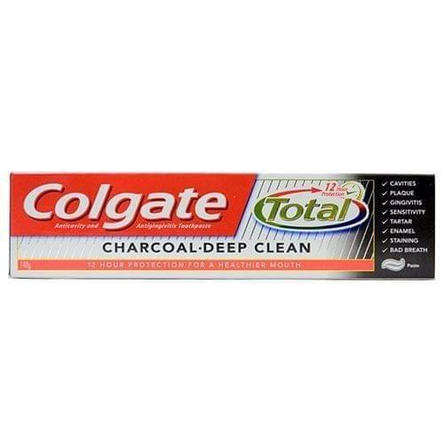 COLGATE - TOTAL CHARCOAL DEEP CLEAN TOOTH PASTE - 120 Gms