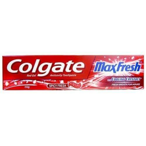 COLGATE - MAX FRESH WITH COOLING CRYSTALS - TOOTH PASTE