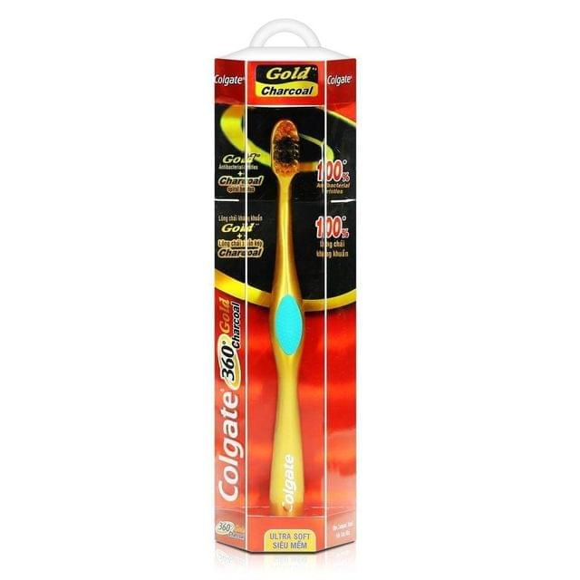 COLGATE - CHARCOAL GOLD 360 - TOOTH BRUSH
