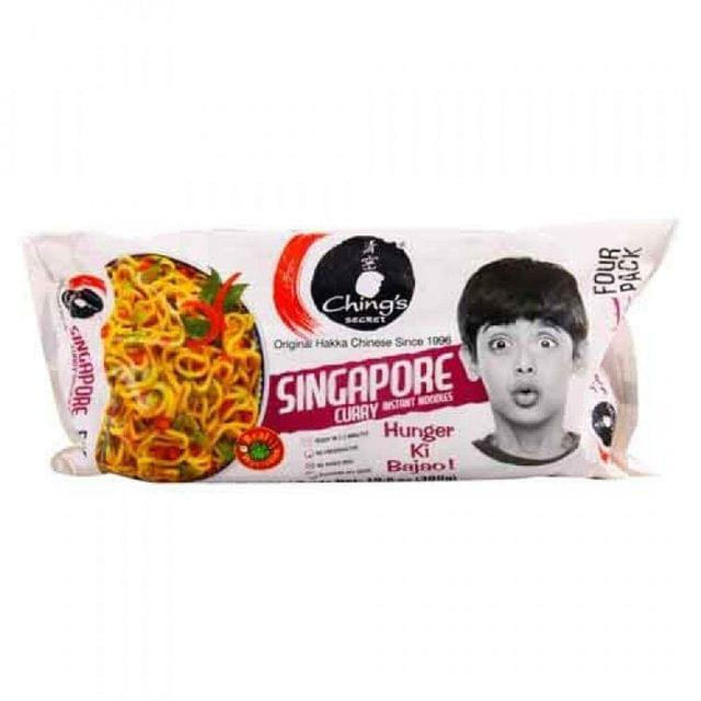 CHING'S - SINGAPORE CURRY NOODLES - 240 Gms