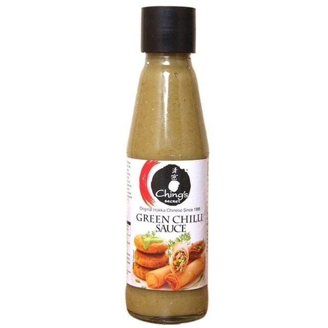 CHING'S - GREEN CHILLI SAUCE - 90 Gms
