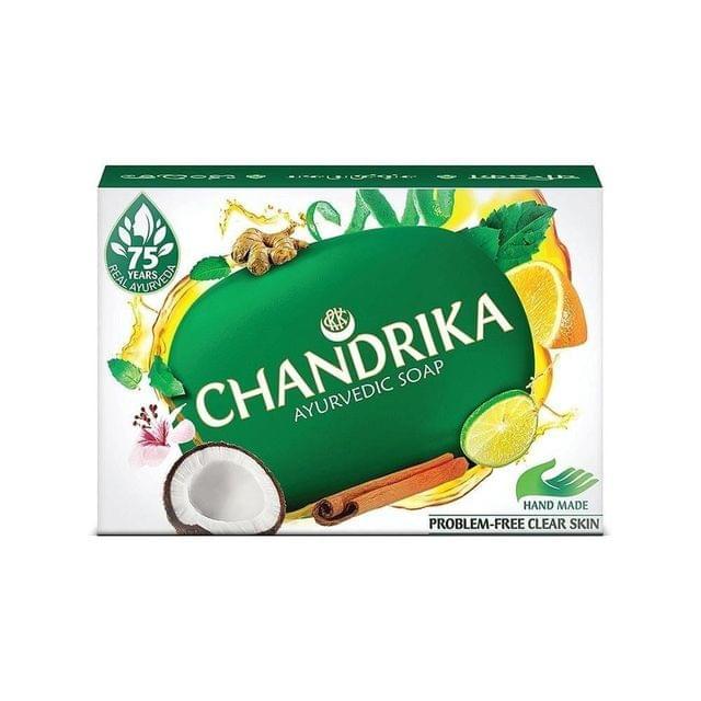 CHANDRIKA - AYURVEDIC SOAP BAR - 75 Gms