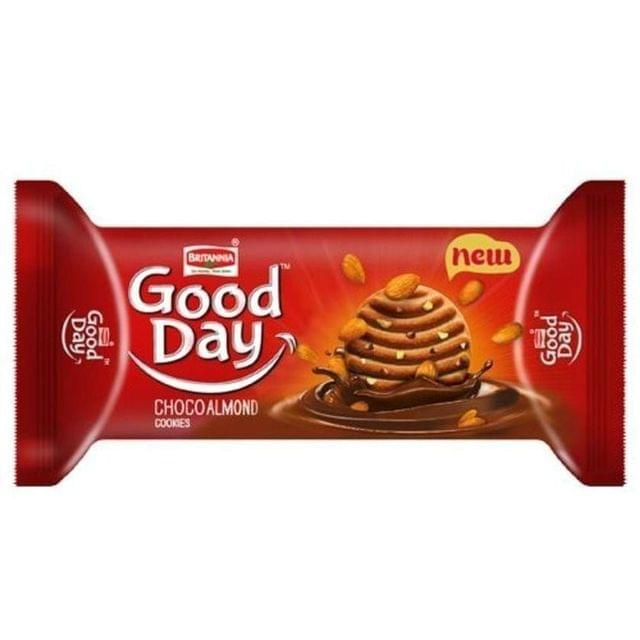 BRITANNIA GOOD DAY CHOCO ALMOND COOKIES 100 Gms