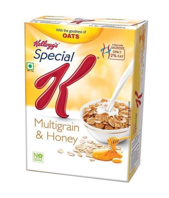 KELLOGG'S - SPECIAL K - MULTIGRAIN OATS & HONEY - 435 Gms
