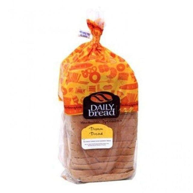 DAILY BREAD - BROWN BREAD - 400 Gms