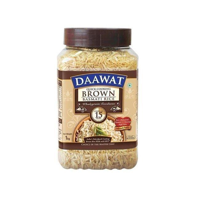 DAAWAT BROWN BASMATI RICE - 1 Kg