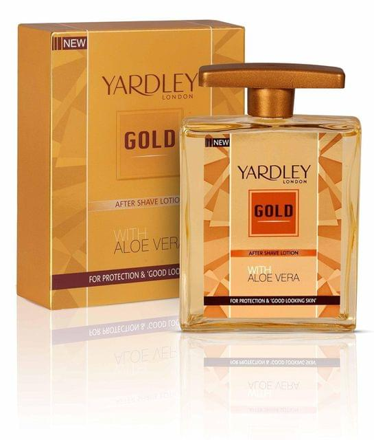 YARDLEY LONDON - GOLD - AFTER SHAVE LOTION - 50 ml