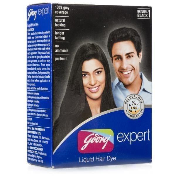 GODREJ - EXPERT LIQUID HAIR DYE - 40 ml