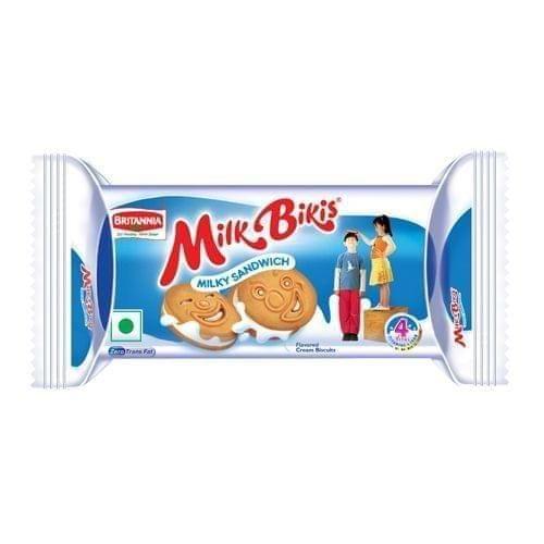 BRITANNIA - MILK BIKIS - MILKY SANDWICH - 100 Gms