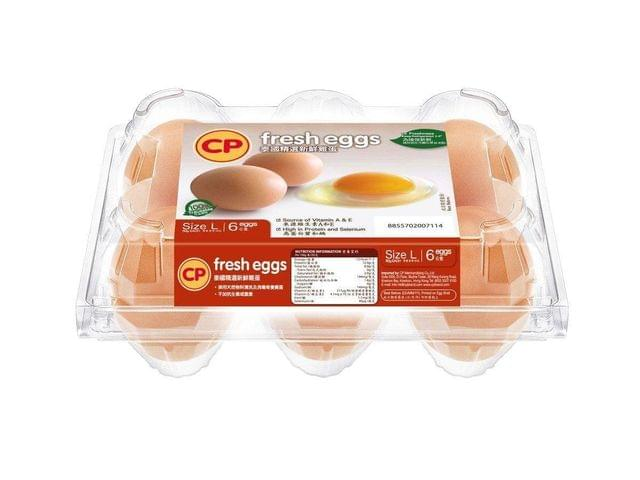 CP - EVERYDAY FRESH EGGS - 6 PIECE