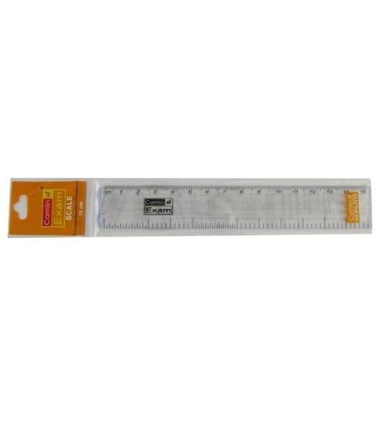 CAMLIN - RULER SCALE - 15 CMS - 1 PIECE
