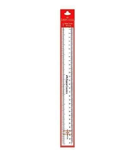 FABER - CASTELL - RULER SCALE - 30 CMS - 1 PIECE