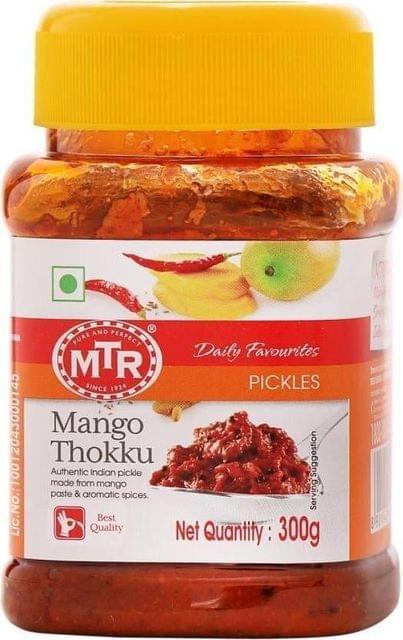 MTR - MANGO THOKKU PICKLE - 500 Gms