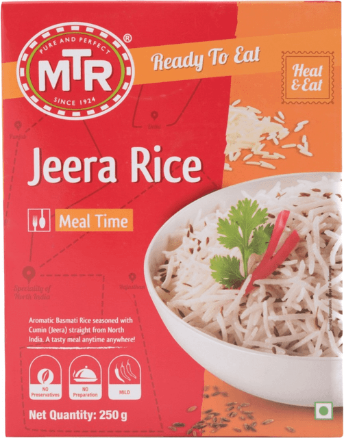 MTR - JEERA RICE - 250 Gms