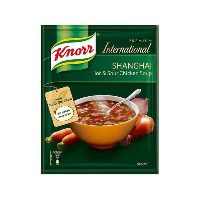 KNORR - SHANGHAI HOT &SOUR CHICKEN SOUP - 38 Gms