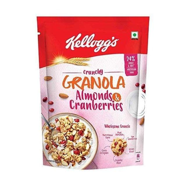KELLOGG'S GRANOLA - ALMONDS & CRANBERRIES - 460 Gms